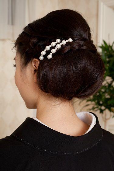 結婚式 髪飾り マナー パール